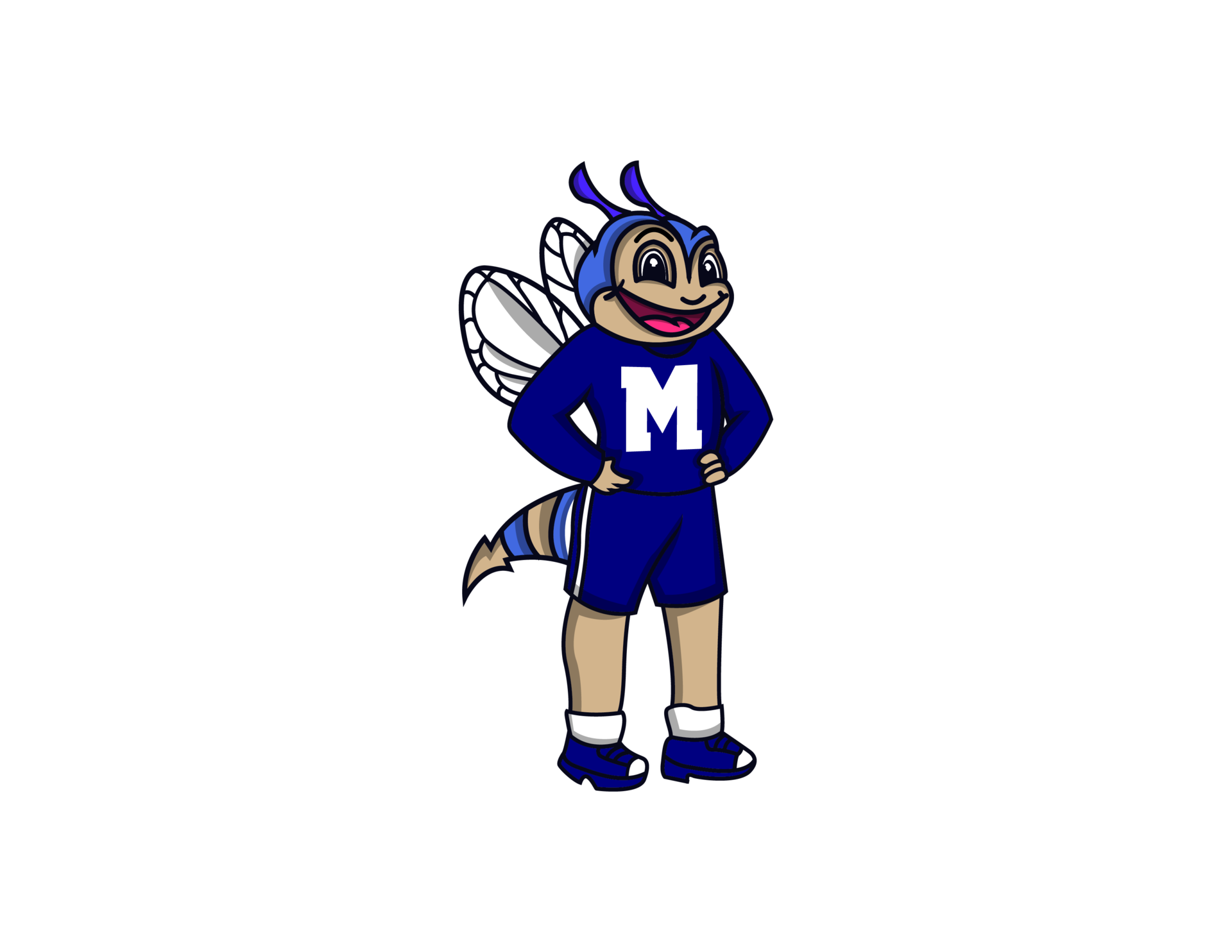 Howie the Hornet Mascot