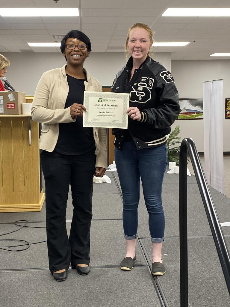 MOA/EAA/MIC Student of the Month