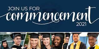 Commencement 2021 Banner