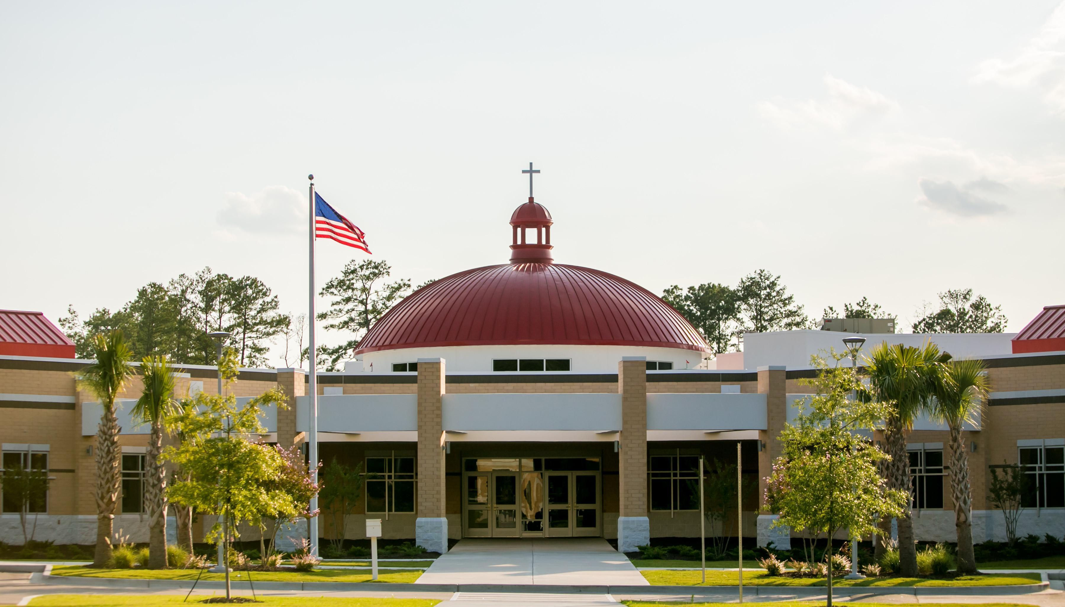 School exterior photo
