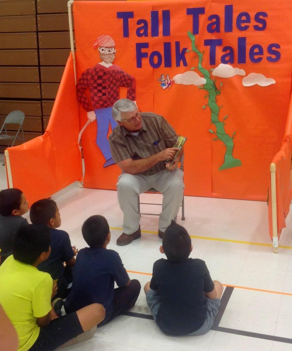 Superintendent reading