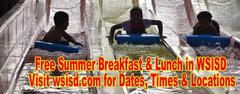 Free Summer Breakfast & Lunch in WSISD - Visit wsisd.com.