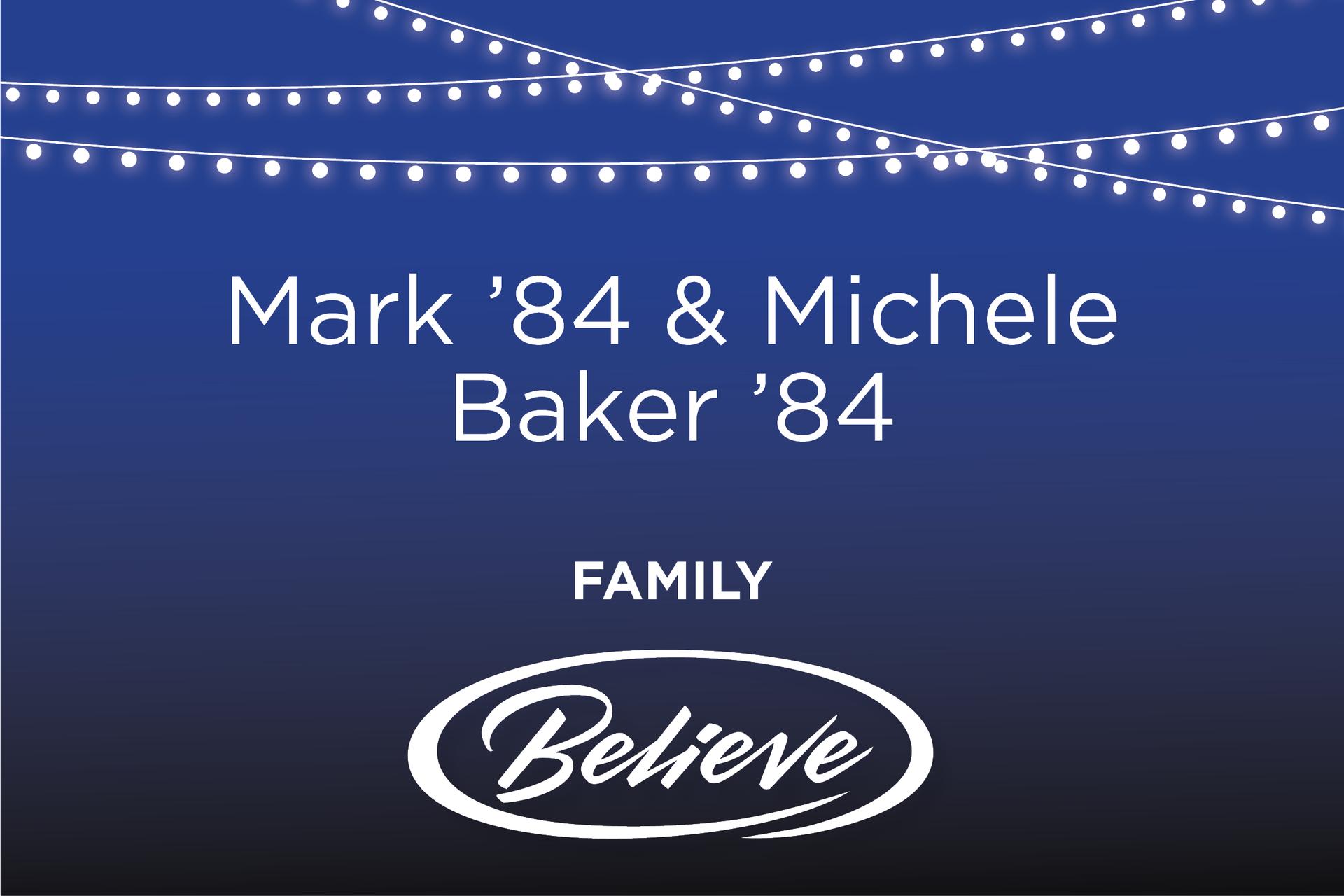 Mark & Michele Baker