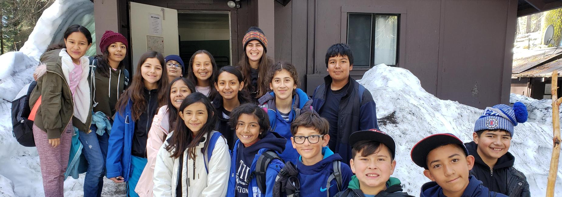 6th Graders in Yosemite