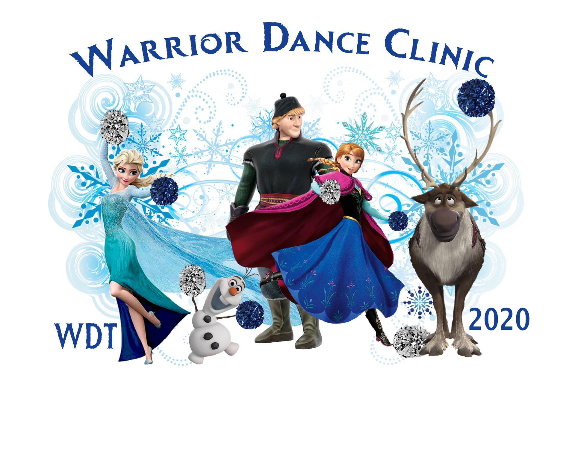 2020 WDT K8 Frozen2 clinic