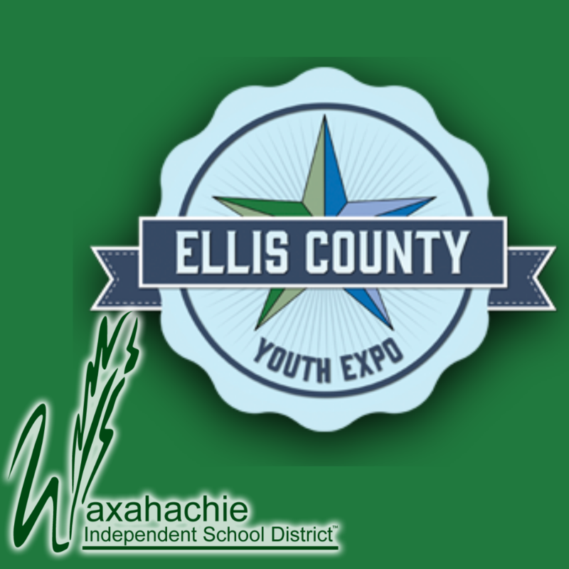 ellis county youth expo and waxahachie isd logos