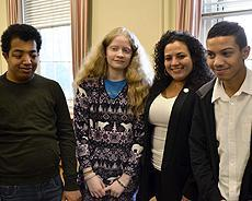 NYI Students with NY Assembly members