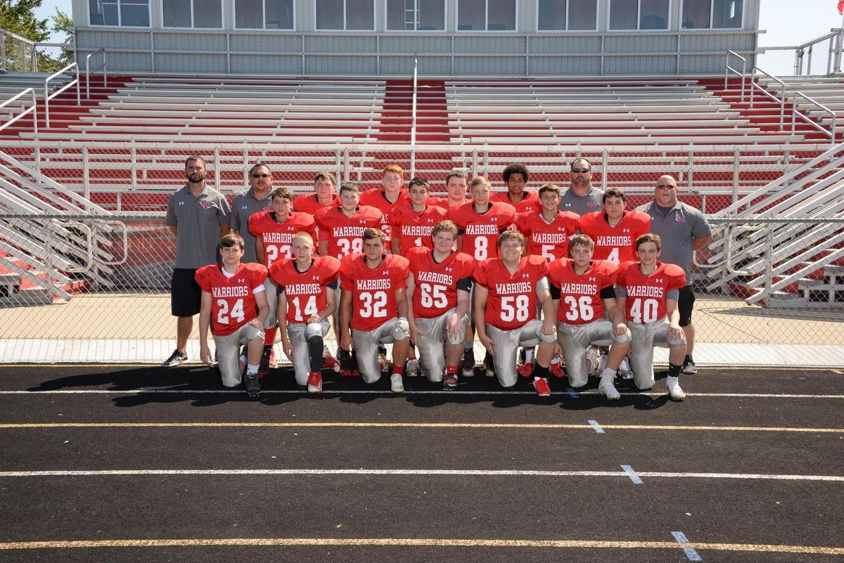 gms grade 8 football team