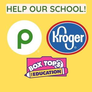 Help us earn at Publix, Kroger, or with Boxtops!