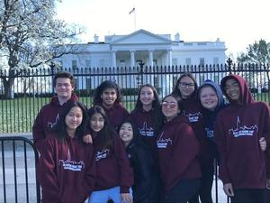 Grade 8 at the White House