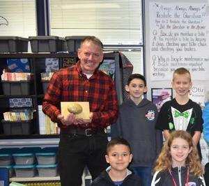 Mr. Haensel's You Rock! Award
