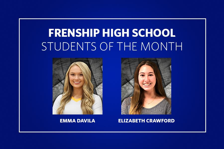 FHS 12th Grade Students of the Month