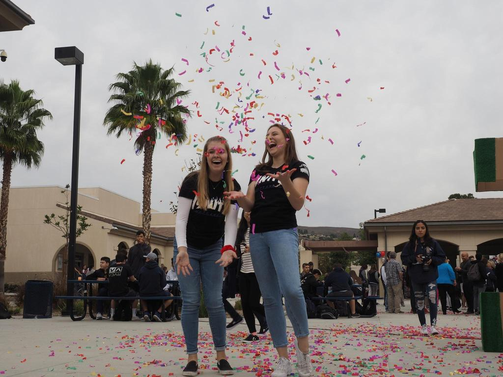 YLHS 10 year celebration taken by Yearbook Students
