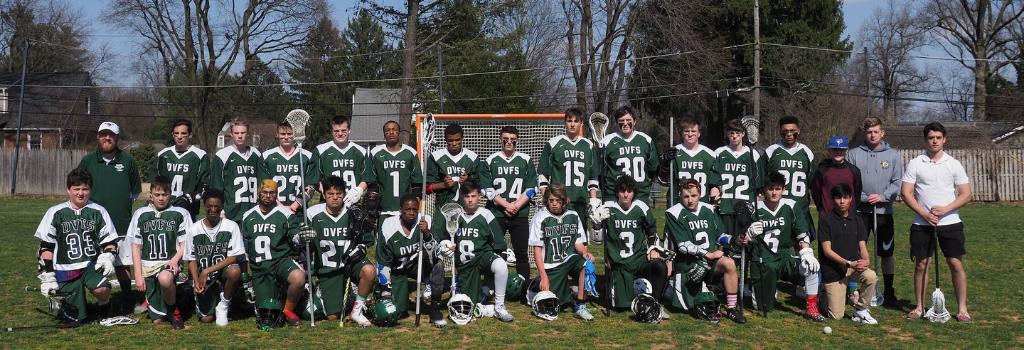 DVFriends Boys Varsity Lacrosse Team 2018-19