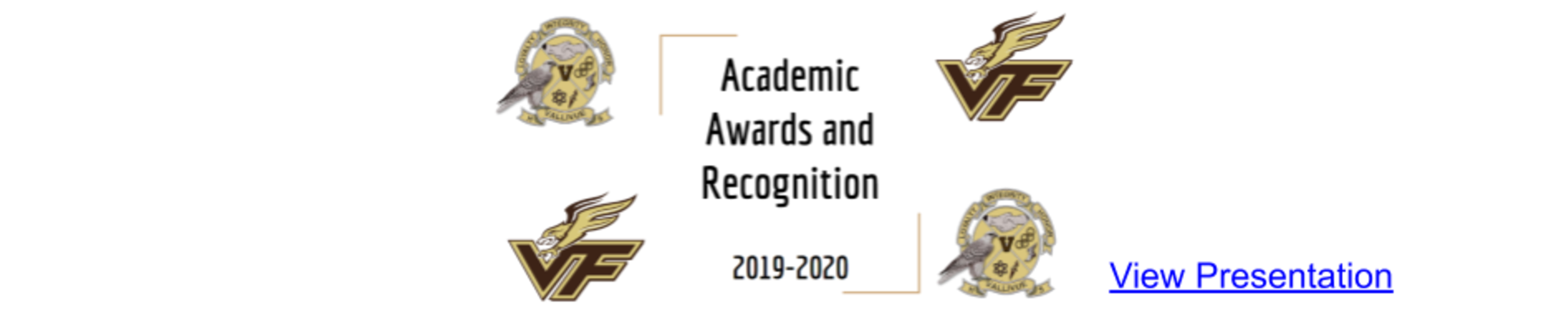 Academic Awards and Recognition
