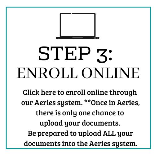 Step 3: Enroll online