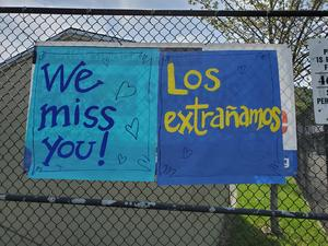 we miss you at school posters