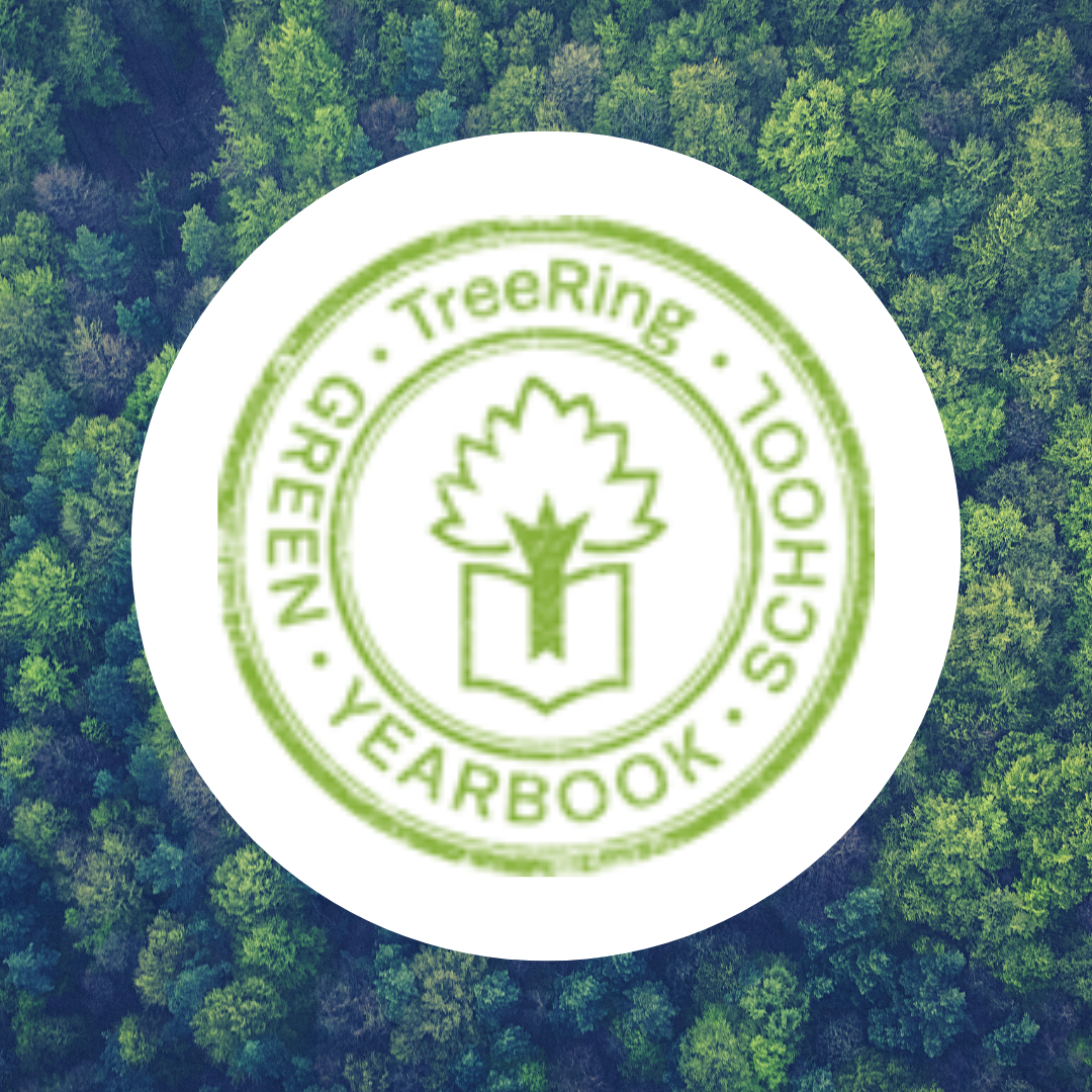 TreeRing has awarded Hillside School the honor of TreeRing Green Yearbook School! Since we have sold 102 yearbooks, TreeRing will be working with their partner, Trees for the Future, to plant that many trees in our school's name!