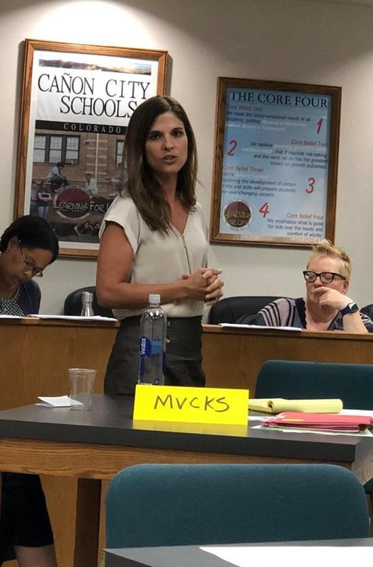 Principal/Director of the Mountain View Core Knowledge School - Karen Sartori