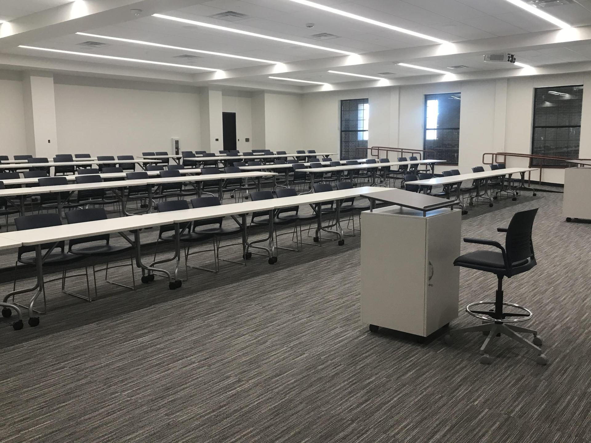 HPHS new lecture hall furnished