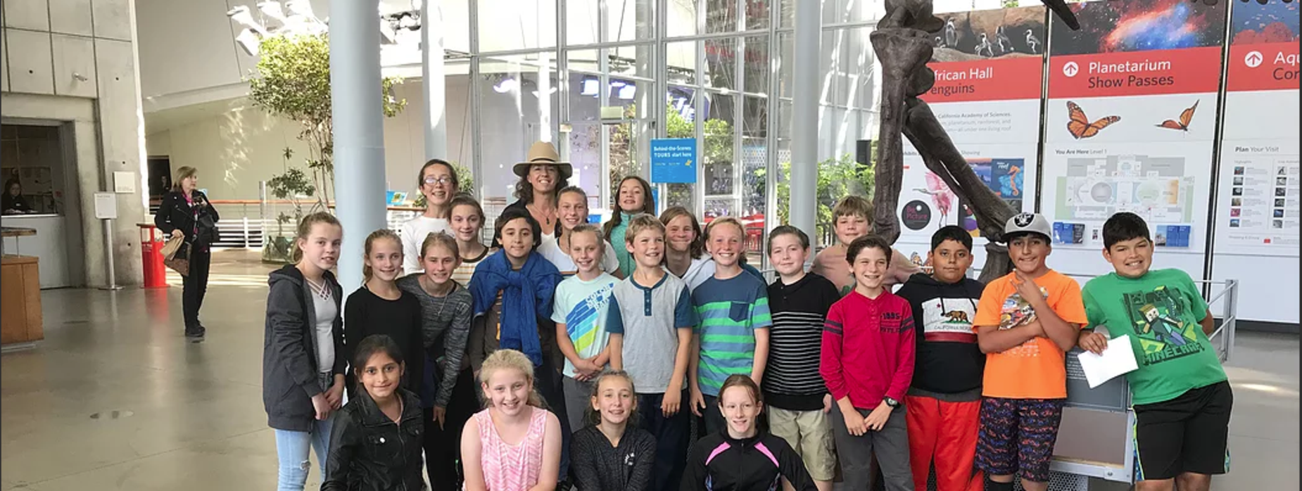 California Academy of Science - West Side School - field trip
