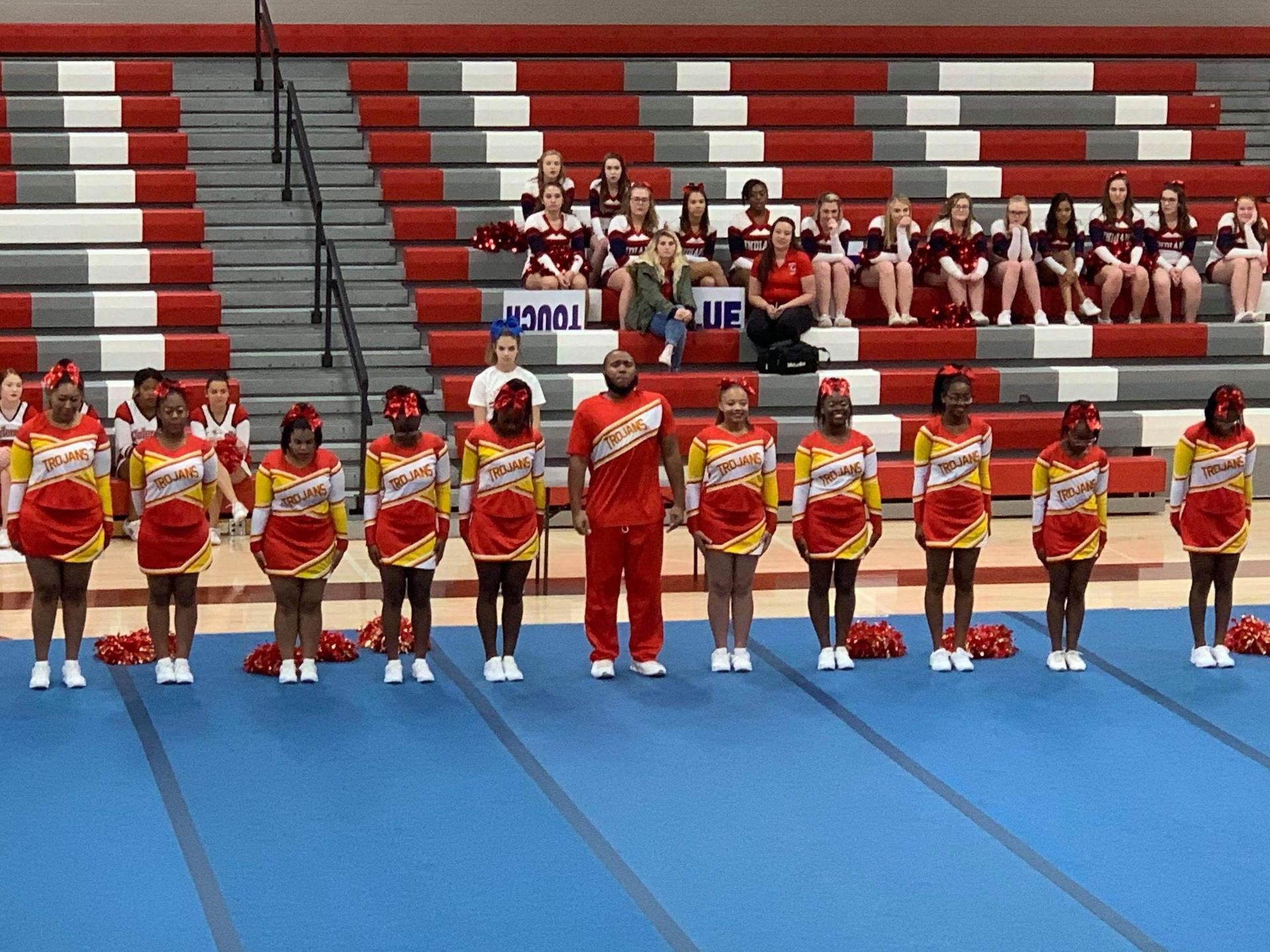 Trojan Cheerleading Team