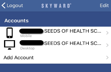Mobile account