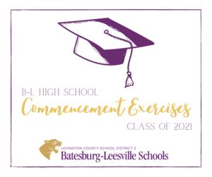 2021 B-L High School Graduation Plans Announced