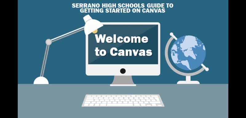 Serrano High School Guide to Canvas Featured Photo