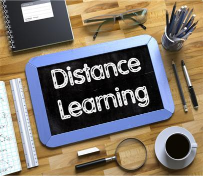 Distance Learning Graphic