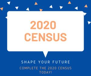 2020 census sign