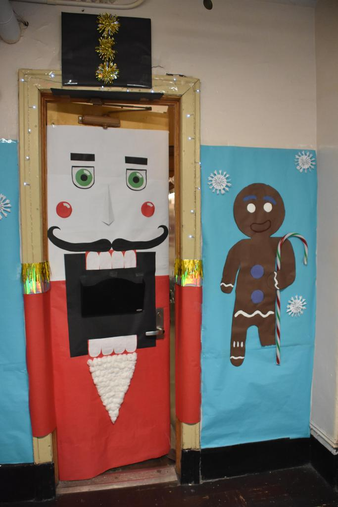 Holiday Office Door