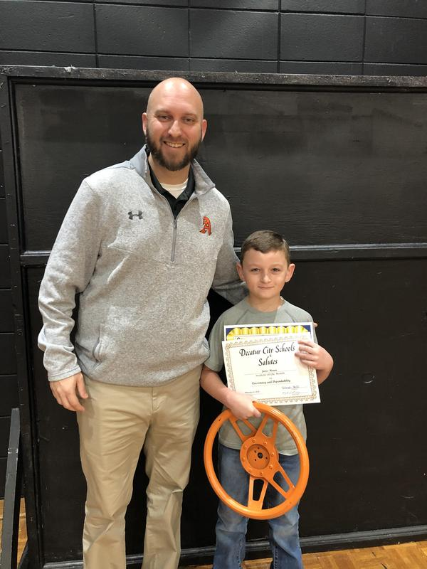 February Overall Student of the Month Winner - Consistency and Dependability Featured Photo