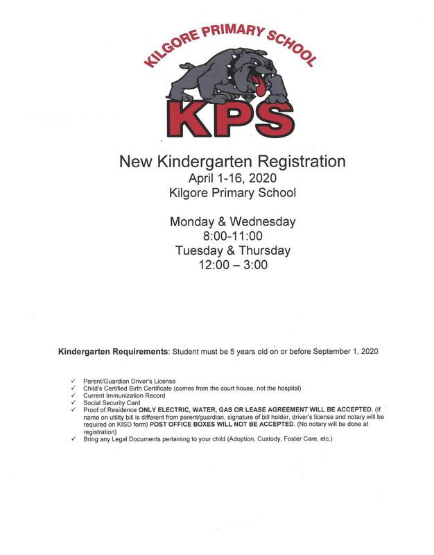 Kindergarten Registration for Students New to KISD Featured Photo