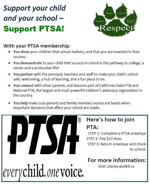 PTSA Membership Sign-Up