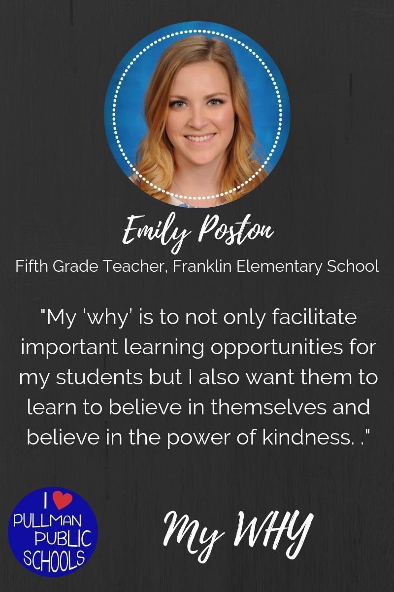 Emily Poston: My WHY Thumbnail Image