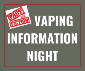Vaping Information Night