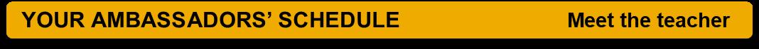 SAS schedule