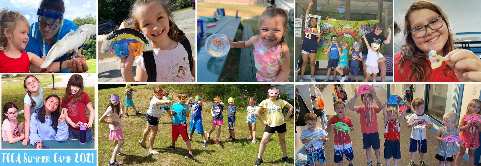 Summer Camp collage