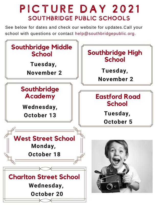 A flyer listing school photo days in English. All information on the flyer is also in the post.
