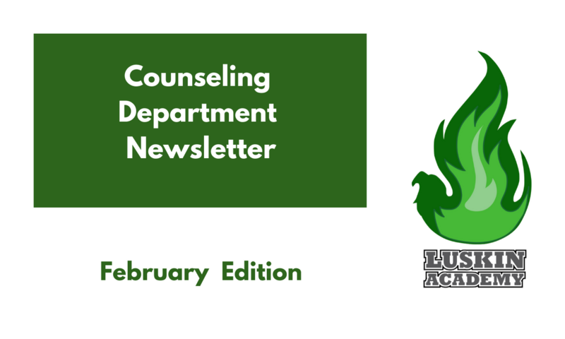 Counseling Department Newsletter Thumbnail Image