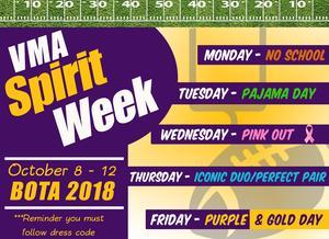 VMA Spirit Week