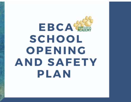 EBCA School Opening and Safety Plan Featured Photo