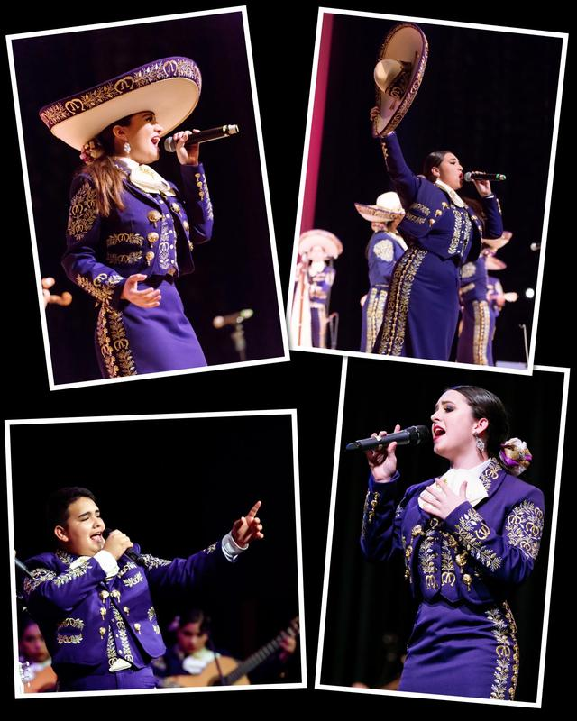 4 McAllen High Mariachi vocalists