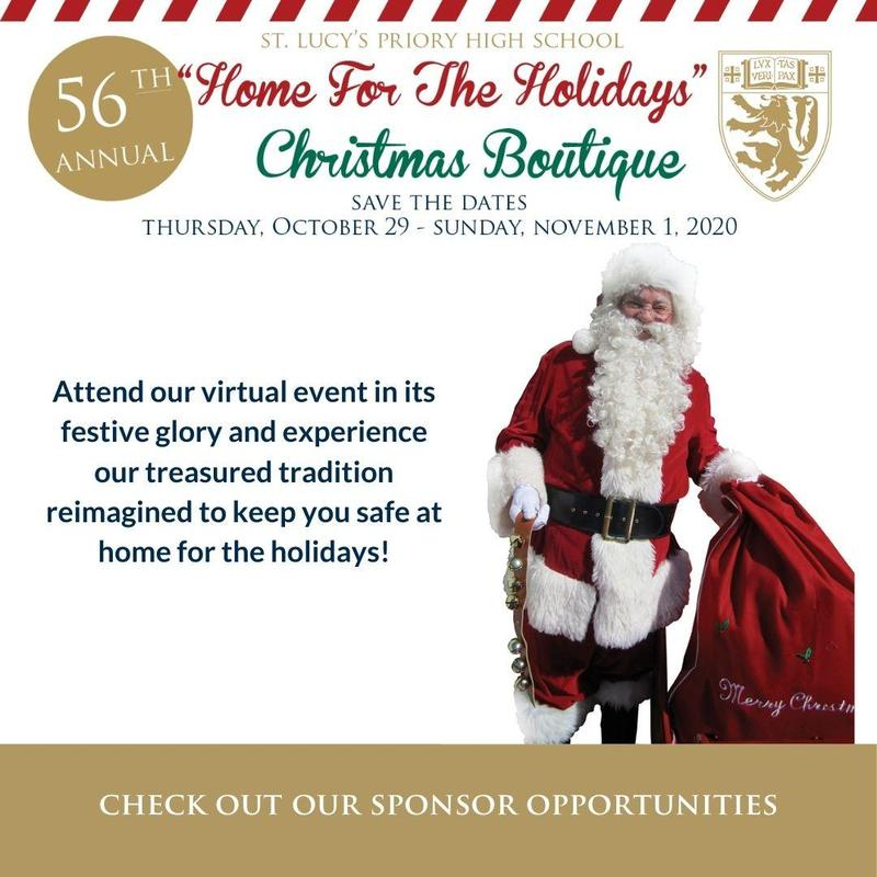 Boutique Flyer with Santa Clause