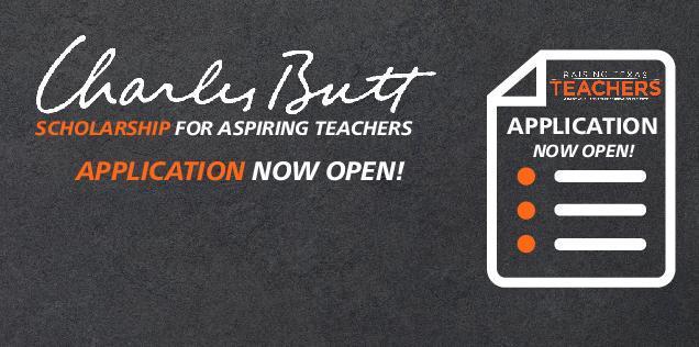 Charles Butt Scholarship for Aspiring Teachers Featured Photo