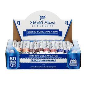 box of World's Finest Chocolate bars