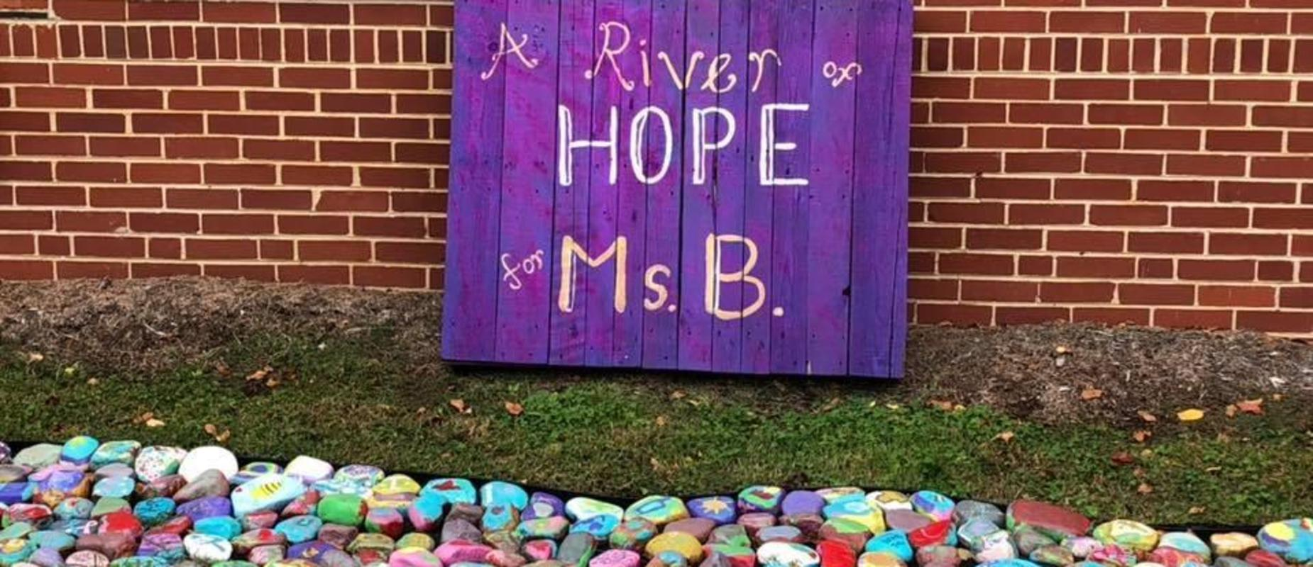 A River of Hope for Mrs. B
