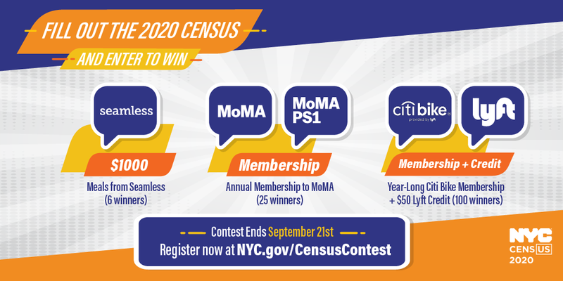 Fill Out the 2020 Census and Enter to Win! Featured Photo