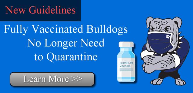 Fully Vaccinated Bulldogs No Longer Need to Quarantine